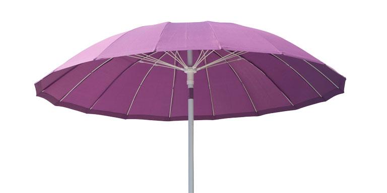 Lækker-lilla parasol