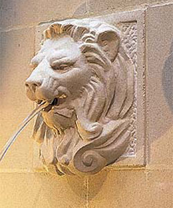 Løven i væggen